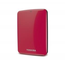 "TOSHIBA CONNECT ROJO 1TB USB 3.0 CANVIO 2.5"" EXTERNO"