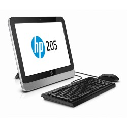 """HP All in One 205 E1-2500 4G 500G DVDRW Linux 18.5"""" Ngr"""