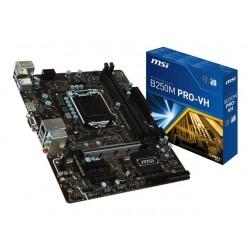 MSI TARJETA MADRE B250M PRO-VH DDR4 2TURBO M.2 2