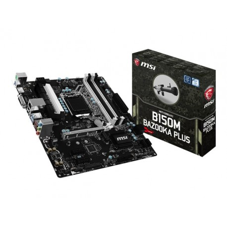MSI B150M BAZOOKA PLUS Motherboard micro ATX - LGA1151 S