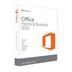 MICROSOFT CAJA OFFICE HOME AND BUSINESS 2016 32/64 ESPANIOL - DVD