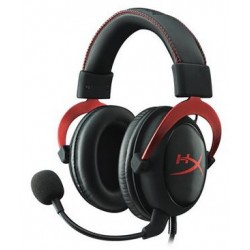 HyperX Audifono Cloud II (Red) Sonido Surround virtual 7.1 - cableado - rojo